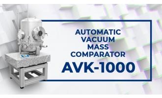 真空质量比较仪AVK-1000视频